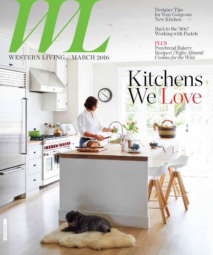 Western Living - BC, March 2016 Western Living magazine entertains readers on the subject of home design, food and wine, and travel and leisure. As Canada's largest regional magazine, Western Living invites readers to stretch their imaginations about living in the West: we share what intrigues, surprises and thrills us about people, places, homes, gardens, food and adventure from Winnipeg to Victoria and everywhere in-between.
