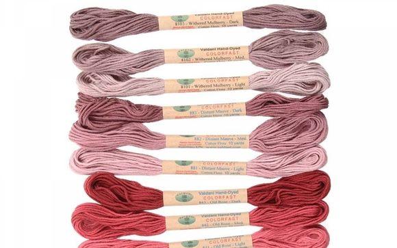 Valdani Hand-Dyed Embroidery Floss