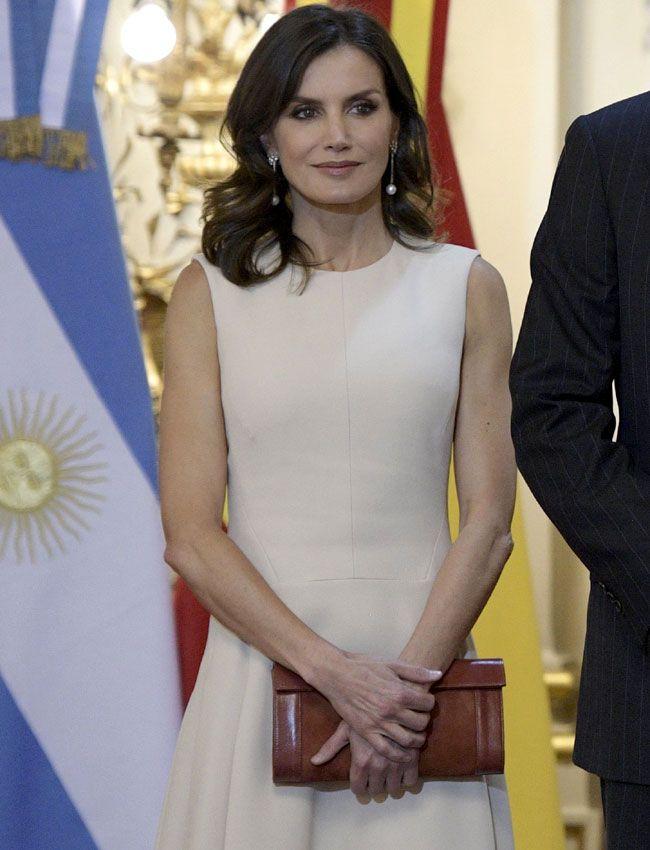 Las Combinaciones Ganadoras Y Estrenos De La Reina En Su Viaje A Argentina Reina Letizia Modelo Cara Reina