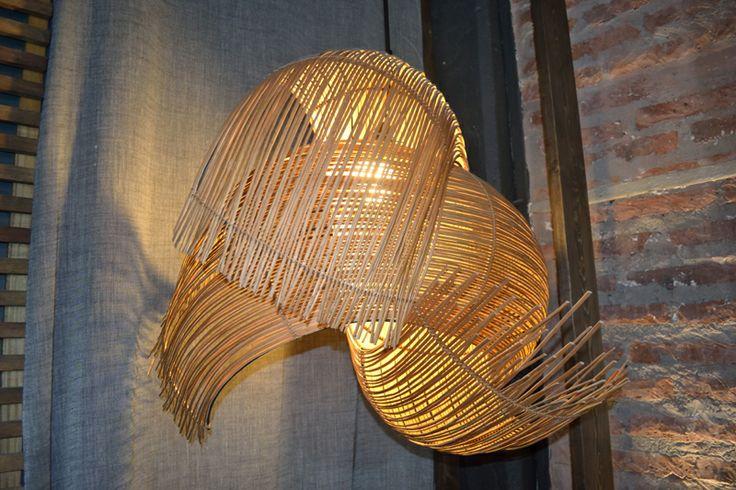 Vento wicker lamp - CasaCor Chile 2012 – Katherine Rahal