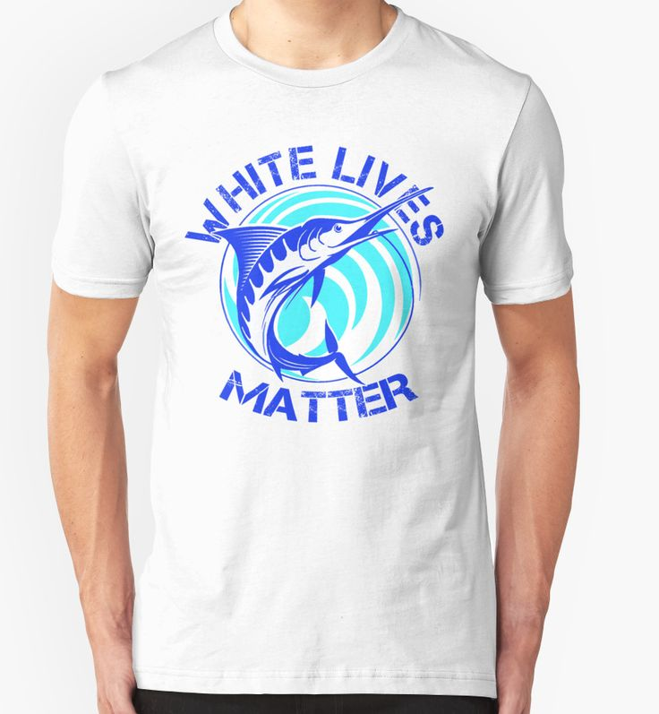 white lives matter ( white marlin by extreamlycool