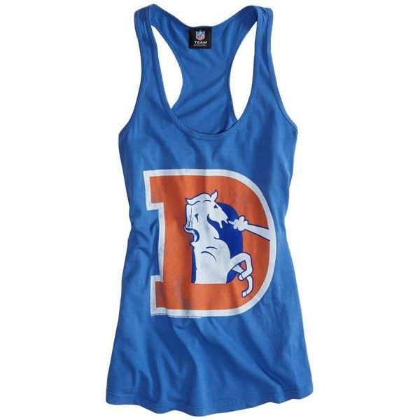 American Eagle Outfitters Denver Broncos Vintage Tank ($20) found on Polyvore