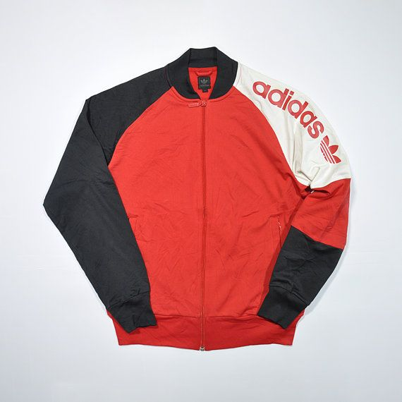 Rare Vintage 80s 90s ADIDAS Track Jacket ADIDAS
