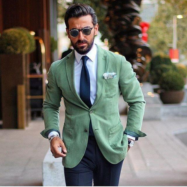 Best 25  Green blazer mens ideas on Pinterest   Mens green blazer ...