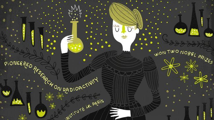 Rememorar y hacer visible los logros de todas esas mujeres que hicieron tanto por la historia, por la ciencia, por nosotros, y que en la mayoría de los casos fueron marginadas y para nada reconocidas. Así es la serie 'Women in Science', de la ilustradora Rachel Ignotofsky: un necesario y precioso homenaje a la mujer científica, investigadora, y cómo no, luchadora
