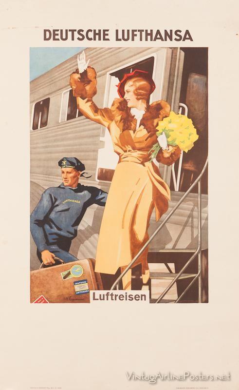 Vintage travel posters - Germany
