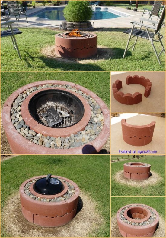 How to Build Your Very Own Mobile Fire Pit for Just $50...