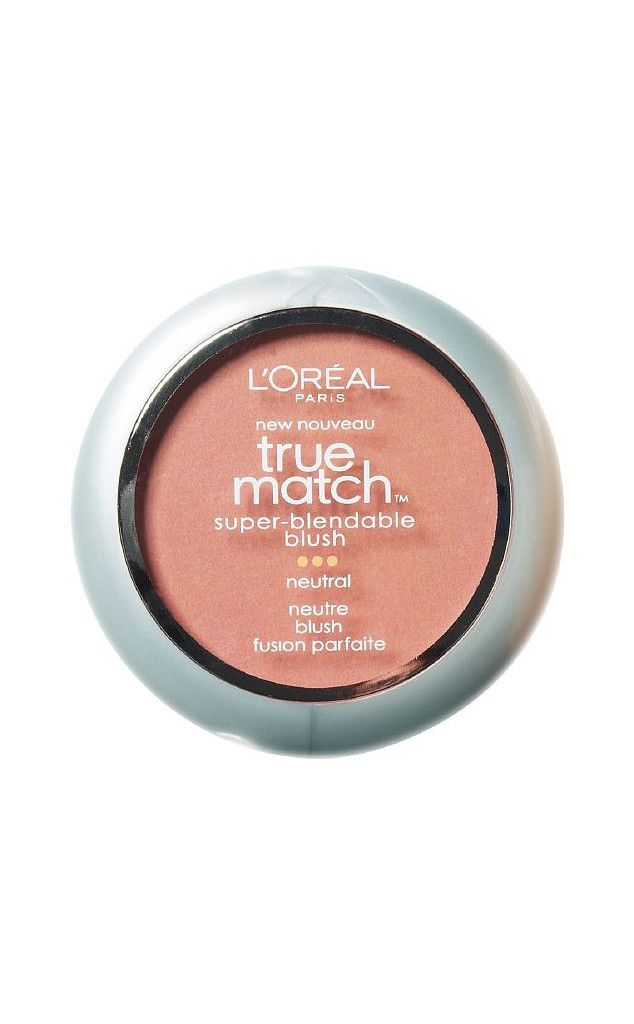 Drug-Store Dynamite from Best Peach Blushes for a Healthy Glow  This is a favorite among beauty editors for its affordability and surprising quality in texture. L'Oréal Paris True Match Super-Blendable Blush, Precious Peach, $10.34