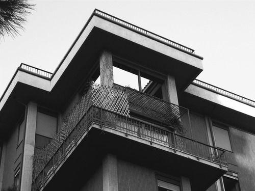 TÉCHNE — Franco Albini - Casa a torre Via Argelati, Mailand