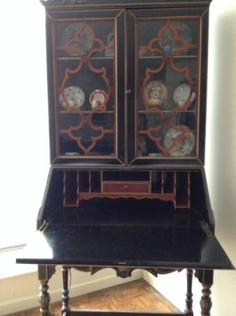 Chinoiserie Secretary S Desk