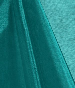 Teal Mirror Organza Fabric - $2.5 | onlinefabricstore.net