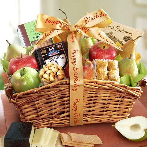 11 easter gift baskets pinterest happy birthday fancy feast fruit basket 7595 negle Gallery