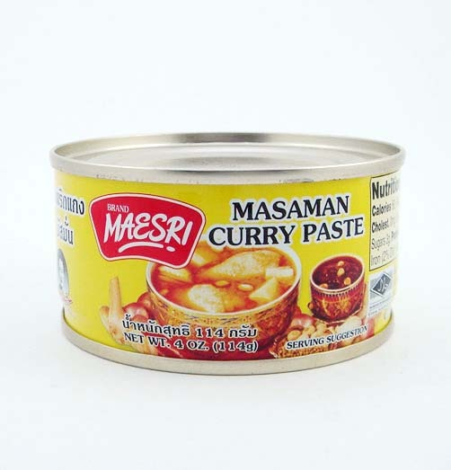 Maesri masaman curry paste-this is exactly what I use for my curry masaman