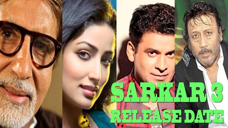 Sarkar 3 Release Date | Sarkar 3 First Look | RAM GOPAL VARMA, Amitabh B...