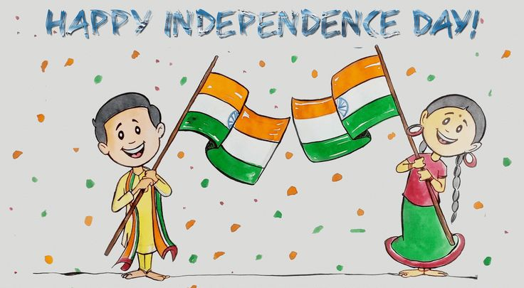 Independence Day Pictures 2016, Drawing, Cartoon Pictures on 15 August2