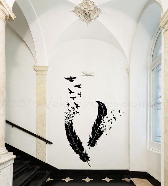Best 25 Bird Wall Decals Ideas On Pinterest Bird Wall