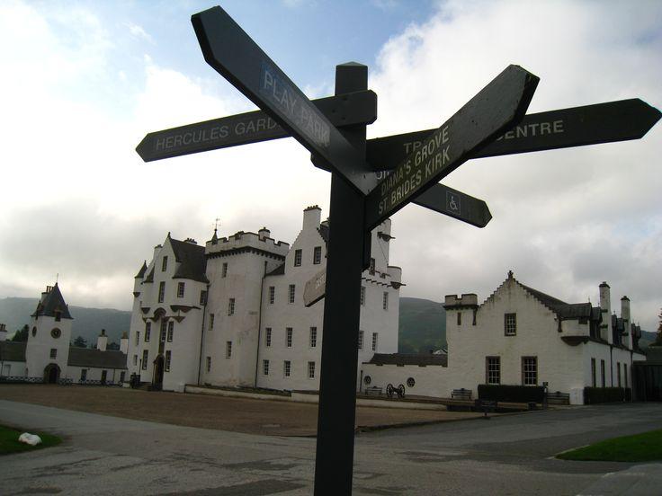 Blair Atholl Castle, Scotland