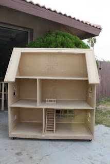 Barbie sized doll house