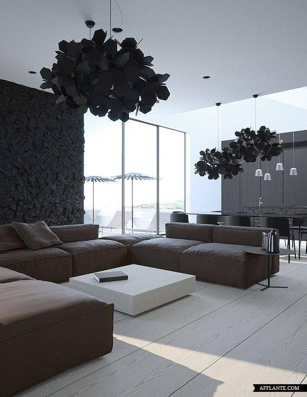 Contemporary Apartment in Crimea by Vasiliy Butenko.