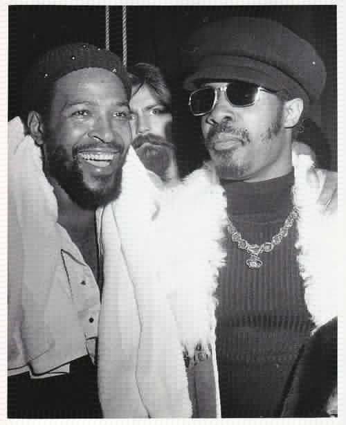 Marvin Gaye & Stevie Wonder: Marvin Gaye, People, Stevie Wonder, Soul Music, Black, Gaye Stevie