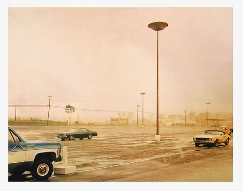 Stephen Shore - Mount Blue Shopping Center, Farmington, Maine, July 30, 1974
