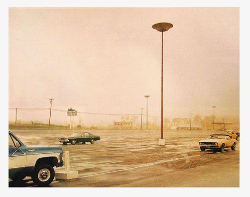 Stephen Shore - Mount Blue Shopping Center, Farmington, Maine, July 30, 1974