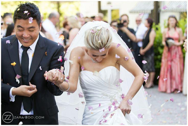 Wedding at #Molenvliet, #confetti photos, Rose Petals