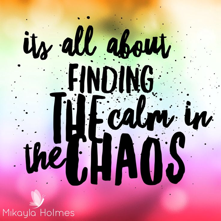 17 Best Chaos Quotes On Pinterest