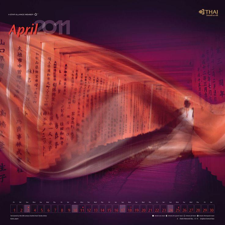 "Check out this @Behance project: ""THAI Airways Calendar"" https://www.behance.net/gallery/15597813/THAI-Airways-Calendar"