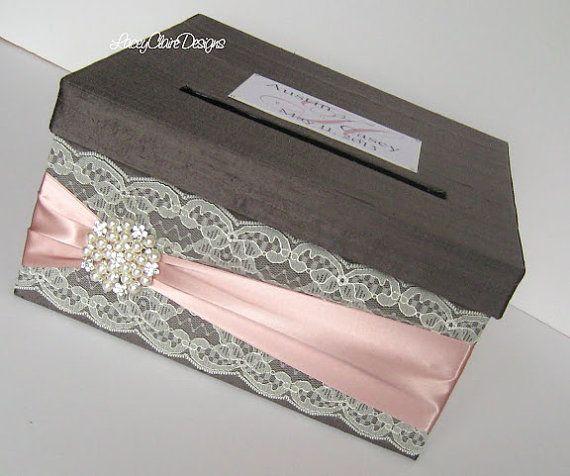 Wedding Card Box-benutzerdefinierten von LaceyClaireDesigns auf Etsy