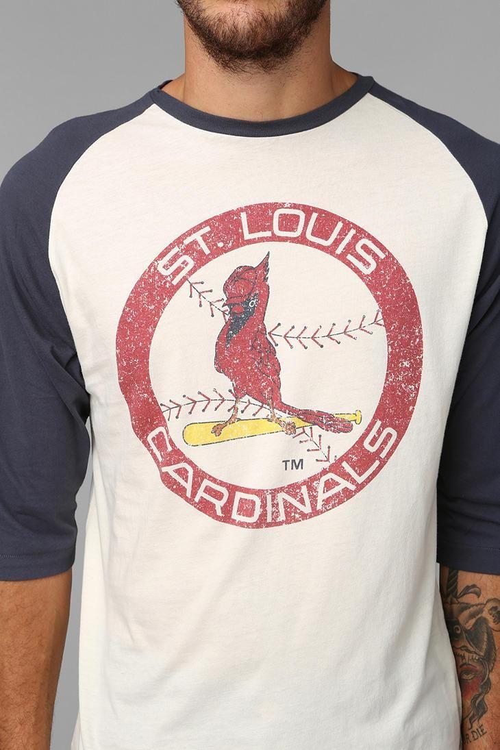 St Louis Cardinals Raglan #urbanoutfitters