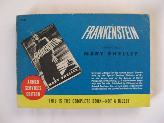 The 25 best frankenstein by mary shelley ideas on pinterest 909 frankenstein by mary shelley rare book fandeluxe Choice Image
