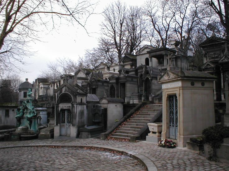 Pere Lachaise in Paris. This is my favorite place on earth. Period.