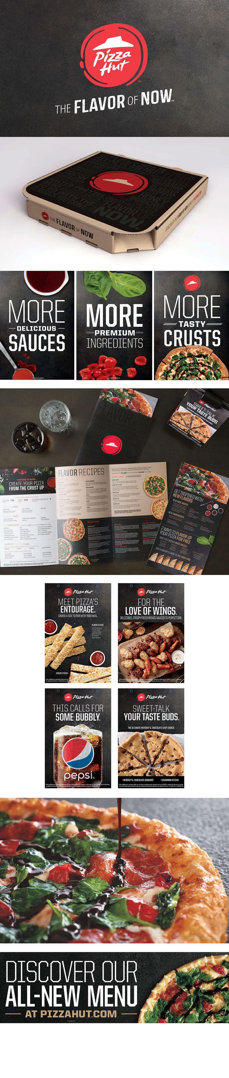 Pizza Hut Rebrand #rebrand #corporative #logo