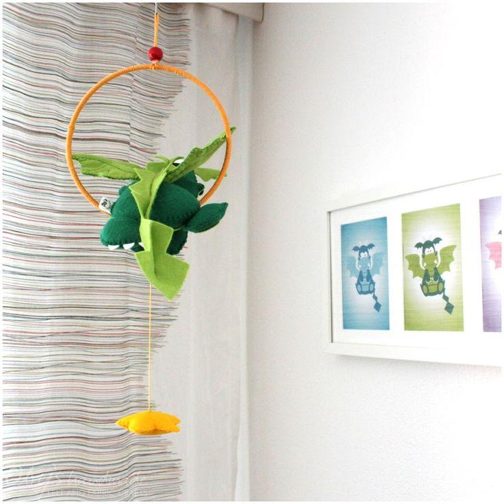 Giostrine da culla · Fiocchi nascita · Decorazioni in stoffa e feltro · Oggetti divertenti e colorati completamente fatti a mano
