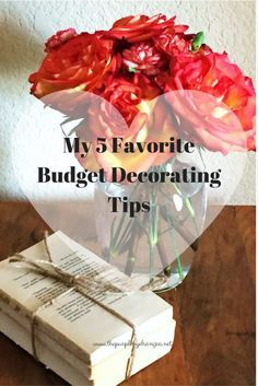 My 5 Favorite Budget Decorating Tips - The Purple Hydrangea