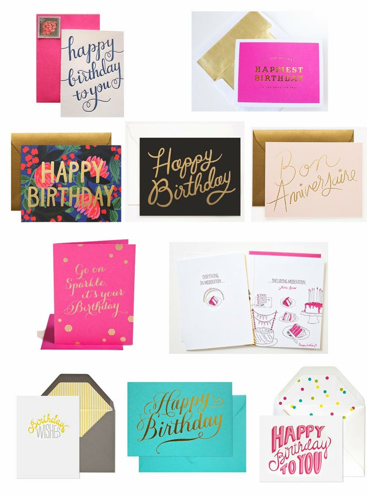 10 Best: Birthday Cards for 2014