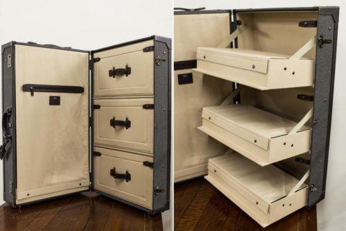 Tumi Townhouse Wardrobe Travel Suitcase Interior Drawers