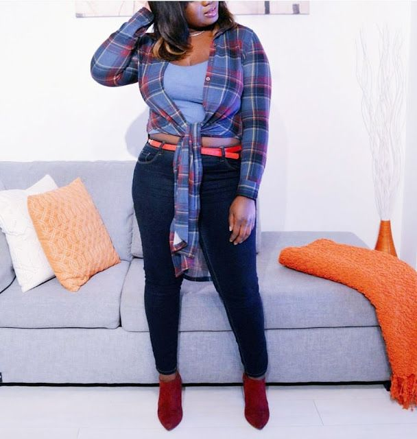 The AfroFusion Spot: Miss G: #OOTD Looks of the Week, fashion, style, lookbook, melanin, plaid, fall, fall fashion, ooth, what i wore