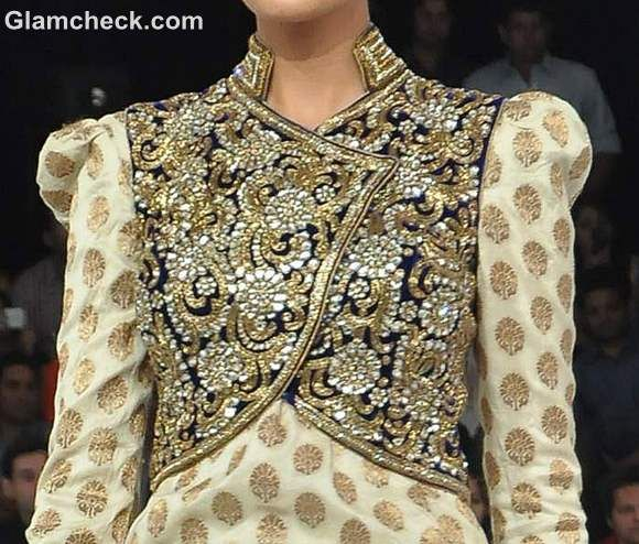 embellished traditional indian jackets Vikram Phadnis