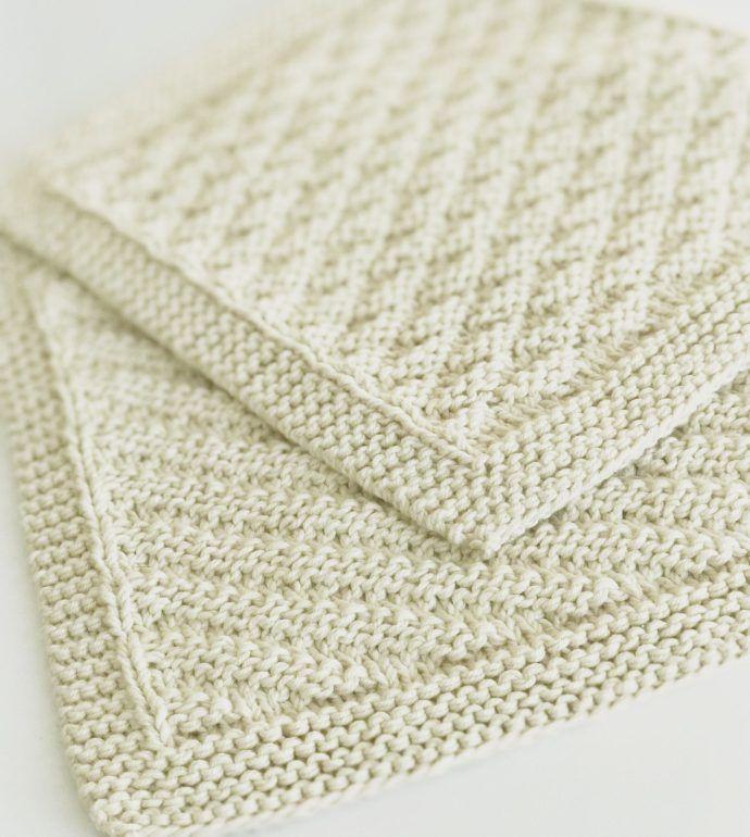 strikkede klude