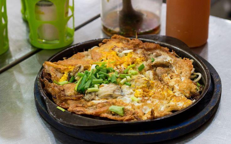 De Yai Chuan Cheem Hoy Tod Kata Ron cheap food bangkok