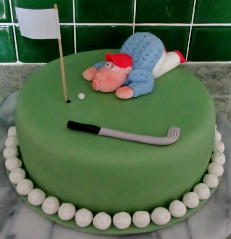 Golf Cupcake Decorating Ideas