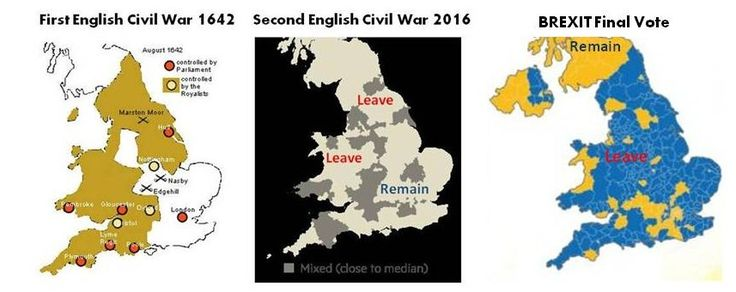 The Second English Civil War 2016-?: Round 1 to Romanticism