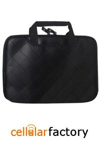 Dell Inspiron 1525 15 inch Black PU Laptop Sleeve / Notebook Carrying Case Bag/ Executive Protector Case (Zipper)