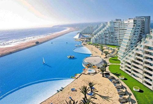 Chile -largest pool in the world