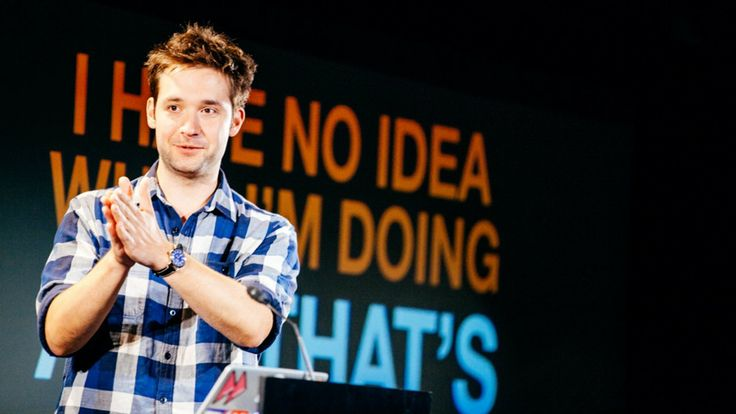 Alexis Ohanian: Sucking is the First Step to Being Good at Something.