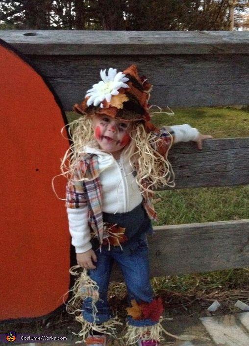 Little Scarecrow - 2013 Halloween Costume Contest