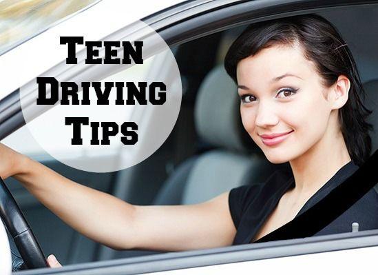 Hot teen drivers safe focus and nice
