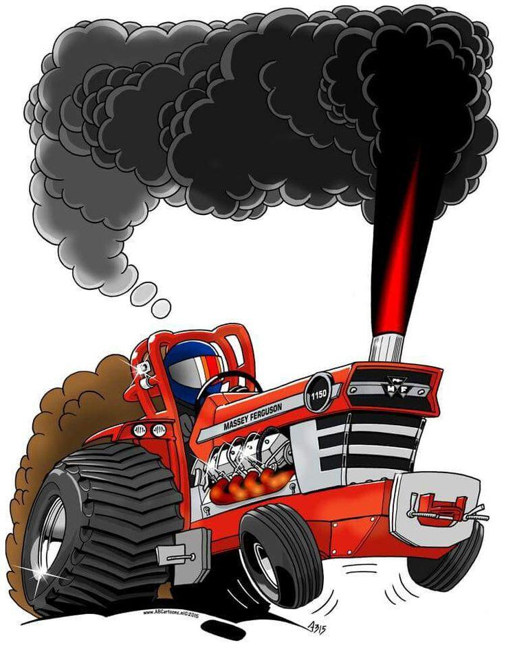 Vintage Tractor Cartoon : Best massey pictures images on pinterest tractors